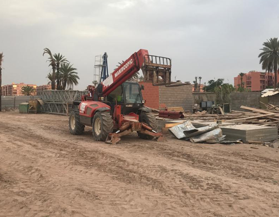 Construction Marrakech